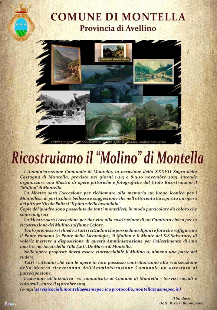 Ricostruiamo il Molino di Montella