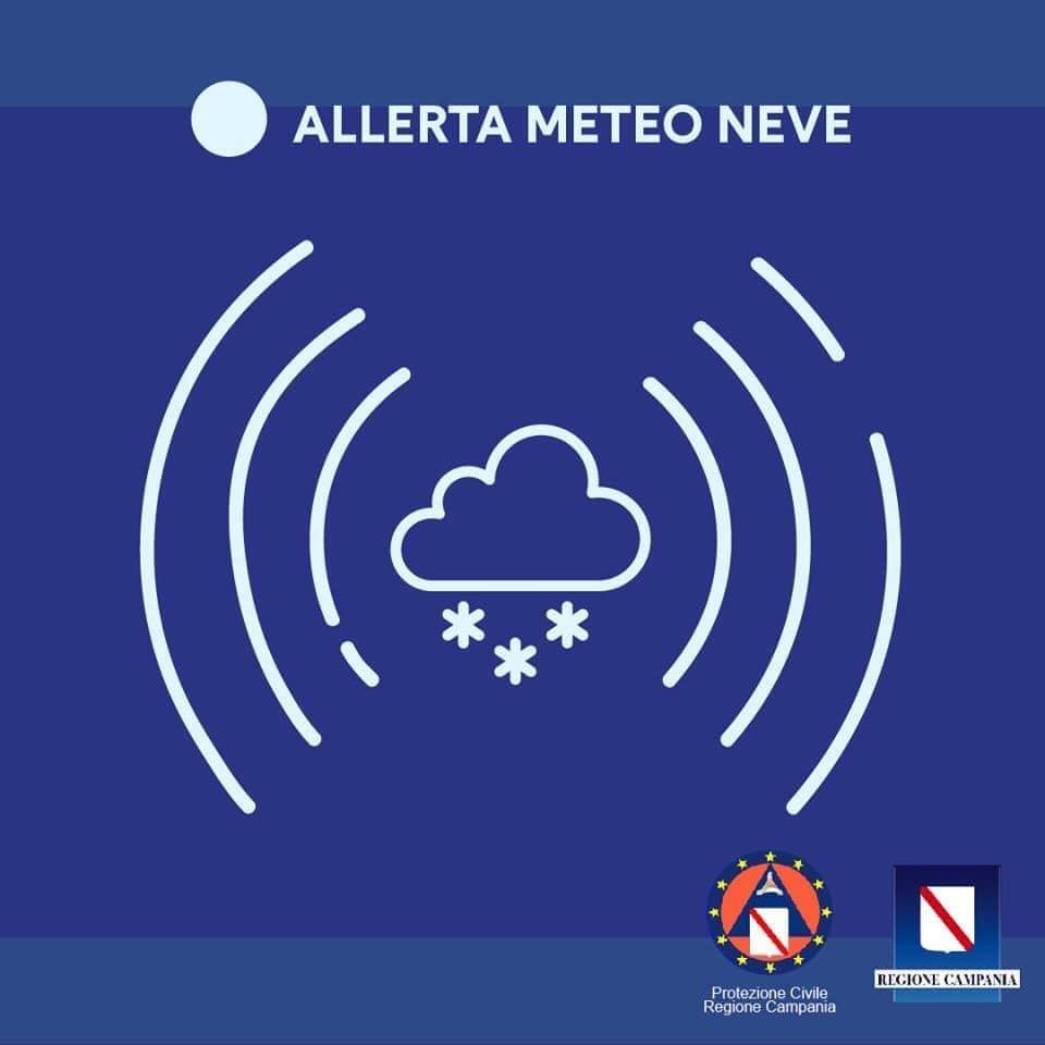 Allerta meteo-neve