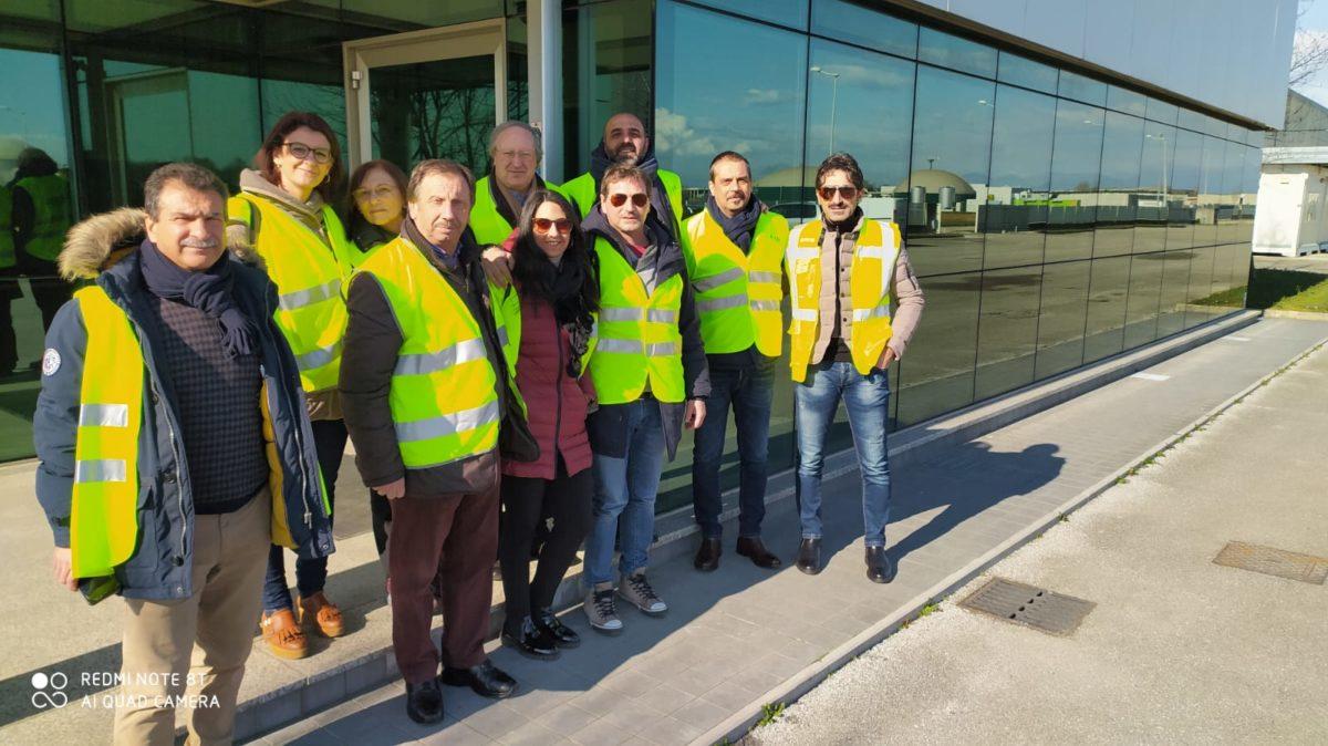 L'amministrazione comunale di Montella in trasferta in Friuli-Venezia-Giulia per visitare un biodigestore
