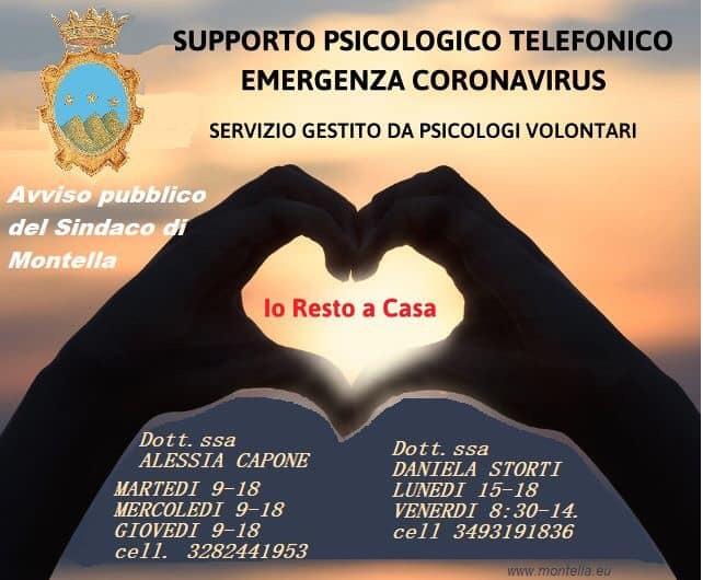 Continua il supporto psicologico gratuito